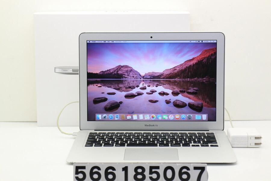 Apple MacBook Air Mid 2013 Core i7 4650U 1.7GHz/8GB/256GB(SSD) Thunderbolt不良【中古】【20180629】