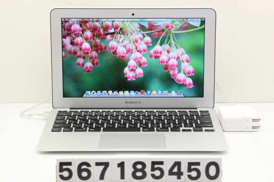 Apple MacBook Air A1465 Early 2014 Core i5 4260U 1.4GHz/4GB/256GB(SSD)/11.6W【中古】【20180731】