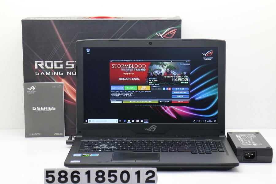 ASUS GL503V Core i7 7700HQ 2.8GHz/16GB/256GB(SSD)+1TB/15.6W/FHD/Win10/GTX1070【中古】【20180807】