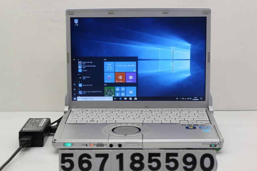Panasonic CF-S10CU9DS Core i5 2520M 2.5GHz/4G/128G(SSD)/Multi/Win10 光学難あり【中古】【20180828】