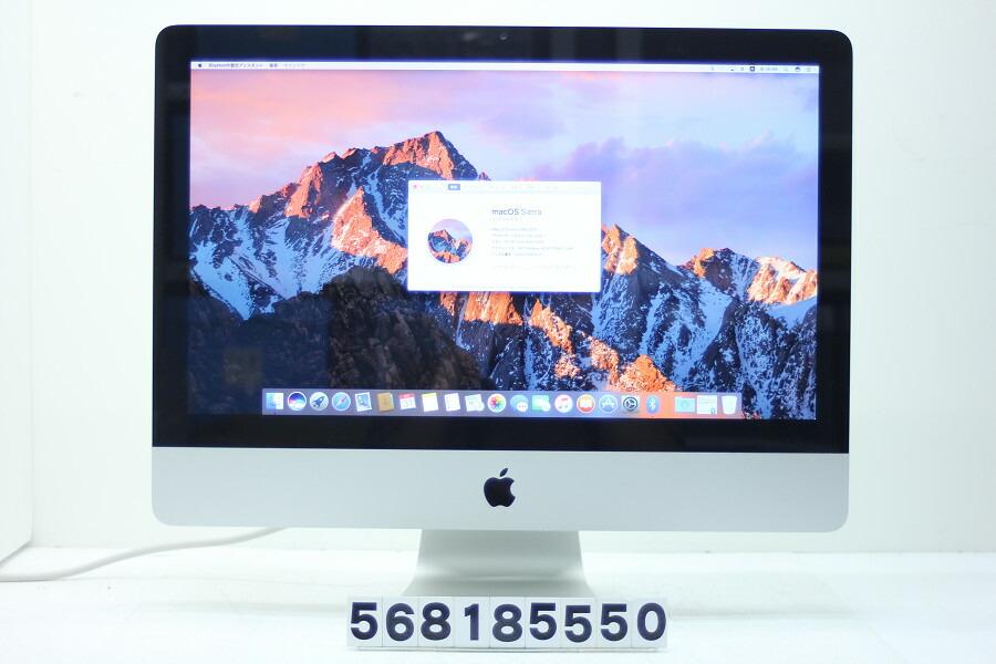 Apple iMac 21.5インチ A1311 Core i7 2600S 2.8GHz/16G/256G(SSD)/Multi/21.5W/FHD【中古】【20180911】