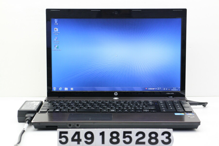 hp ProBook 4520s Core i3 M350 2.27GHz/2GB/250GB/Multi/15.6W/FWXGA/Win7【中古】【20180918】