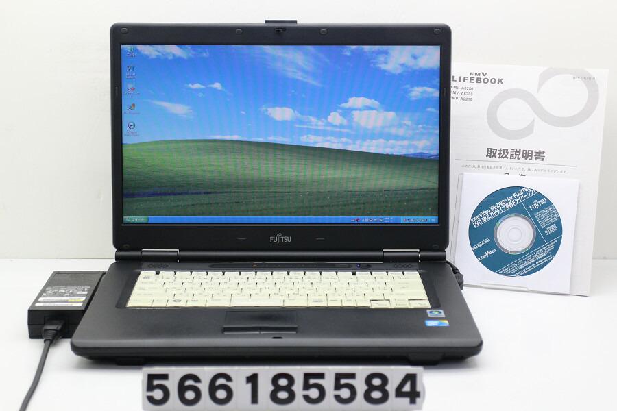 富士通 FMV-A8280 C2D P8700 2.53GHz/2GB/80GB/Multi/15.6W/FWXGA/XP【中古】【20180926】
