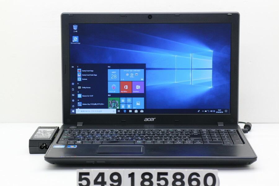 acer TMP453-M Core i3 3110M 2.4GHz/4GB/500GB/Multi/15.6W/FWXGA/Win10【中古】【20181002】