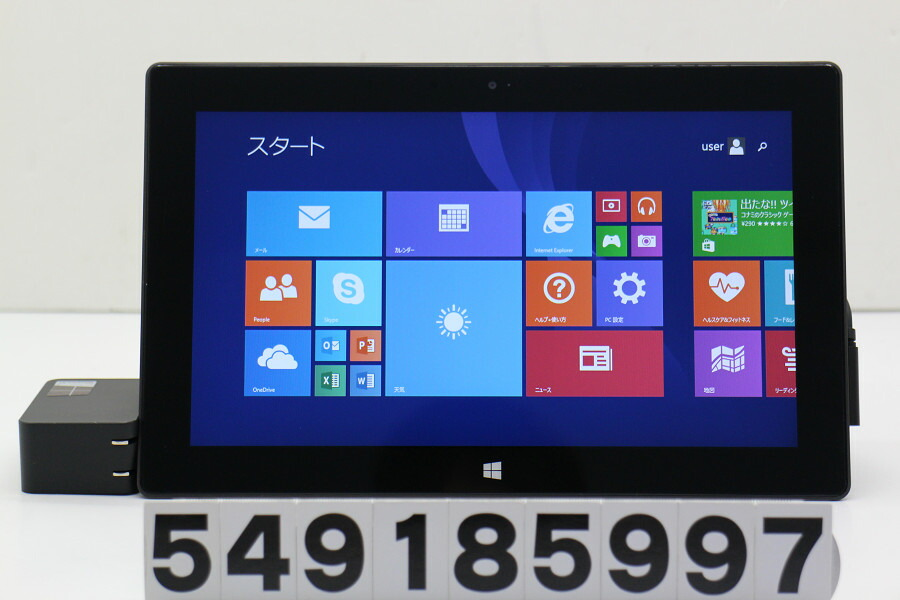 Microsoft Surface RT (32GB) NVIDIA Tegra 3 1.3GHz/2GB/32GB/10.6W/FWXGA/WinRT8.1【中古】【20181011】