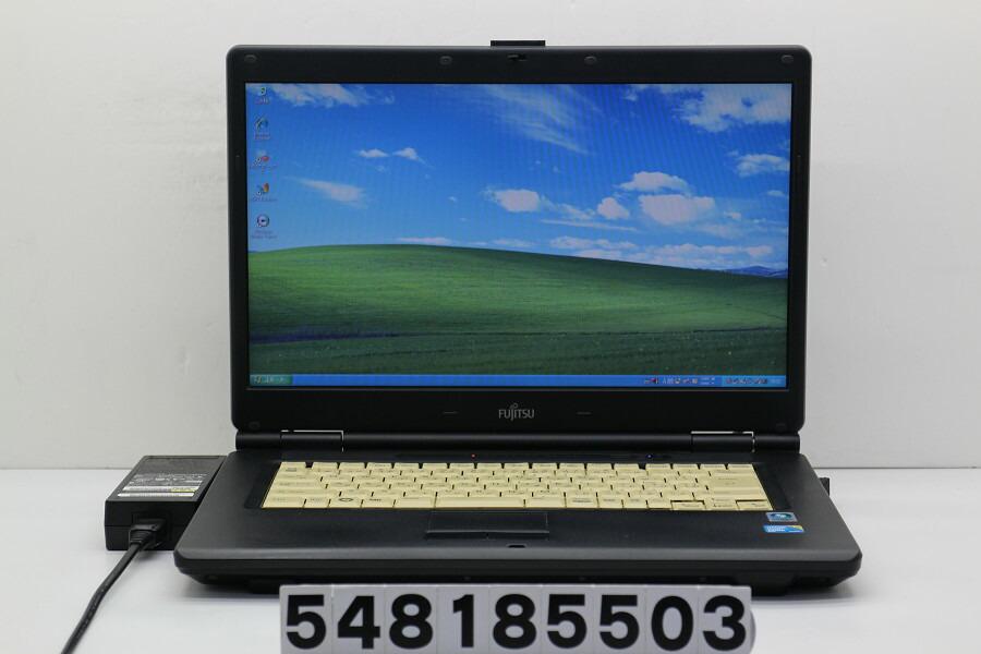 富士通 FMV-A8280 C2D P8700 2.53GHz/2GB/160GB/Multi/15.6W/FWXGA/XP【中古】【20181012】
