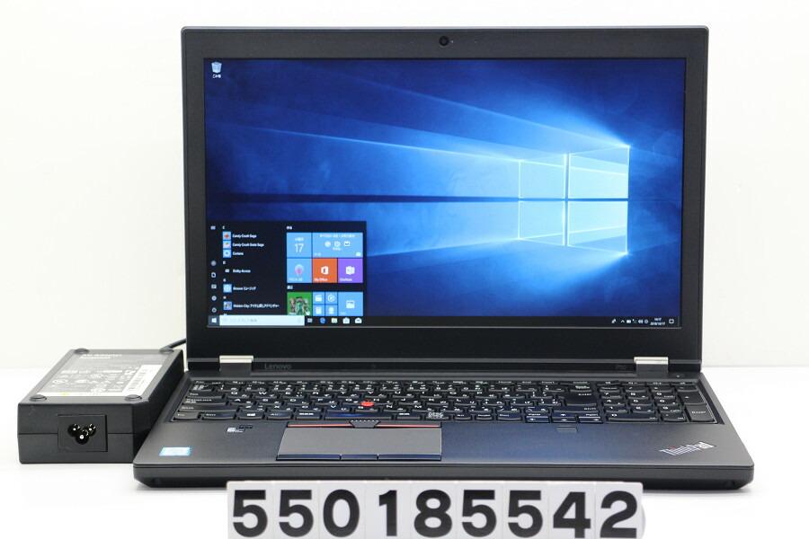 lenovo ThinkPad P50 Core i7 6820HQ 2.7GHz/8GB/120GB(SSD)/Win10/Quadro M1000M【中古】【20181018】