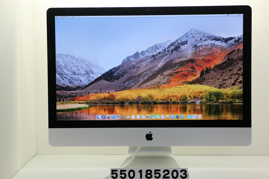Apple iMac 27インチ A1419 Late 2012 Core i7 3770 3.4GHz/32GB/1TB/27W/WQHD【中古】【20181027】