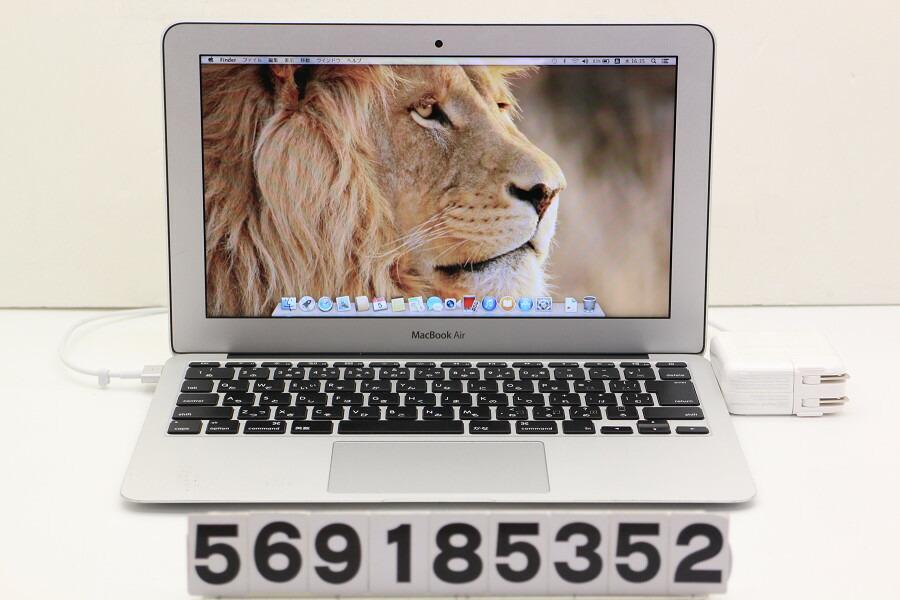 Apple MacBook Air Early 2014 Core i5 4260U 1.4GHz/4GB/256GB(SSD)/11.6W/FWXGA【中古】【20181106】