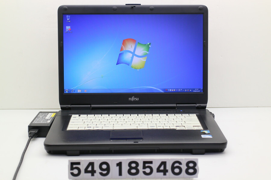 富士通 LIFEBOOK A540/A Celeron 900 2.2GHz/2GB/320GB/DVD/15.6W/FWXGA/Win7【中古】【20181108】
