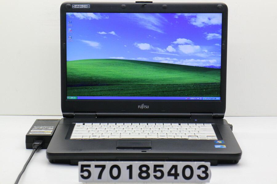 富士通 FMV-A8290 C2D P8700 2.53GHz/2GB/250GB/Multi/15.6W/WXGA++/XP【中古】【20181121】