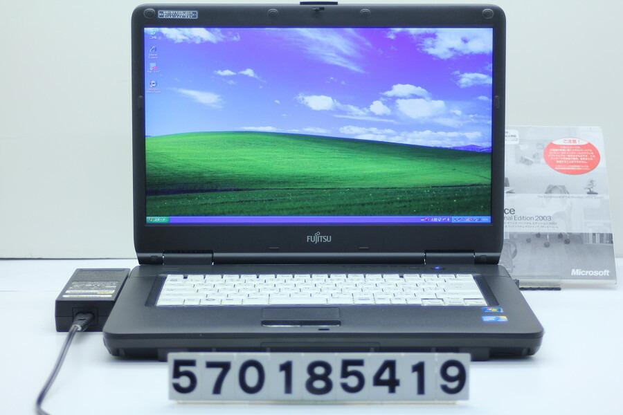 富士通 FMV-A8290 C2D P8700 2.53GHz/2GB/250GB/Multi/15.6W/WXGA++/XP【中古】【20181128】