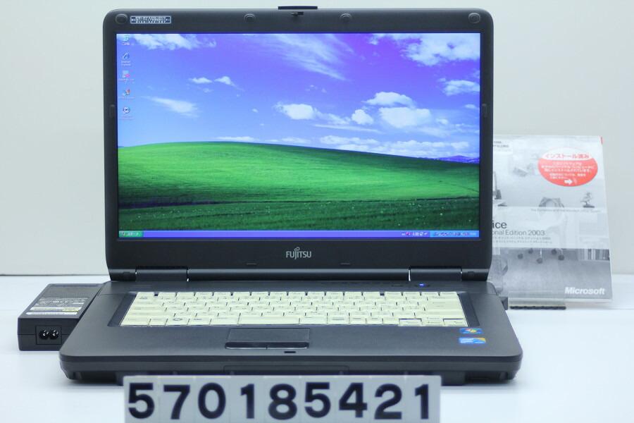 富士通 FMV-A8290 C2D P8700 2.53GHz/2GB/320GB/Multi/15.6W/WXGA++/XP【中古】【20181128】