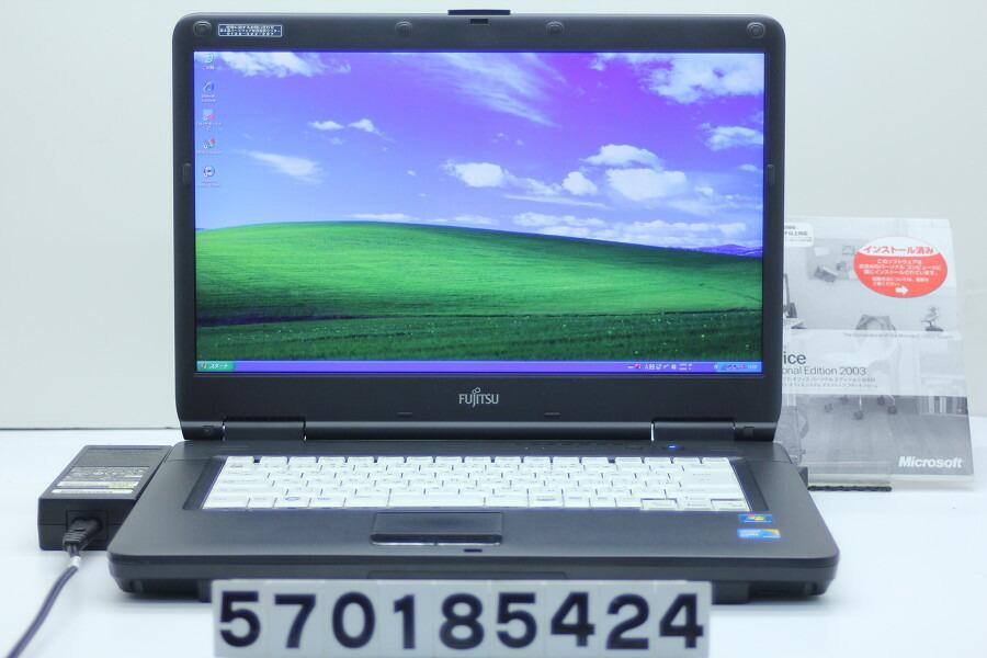 富士通 FMV-A8290 C2D P8700 2.53GHz/2GB/320GB/Multi/15.6W/WXGA++/XP【中古】【20181129】