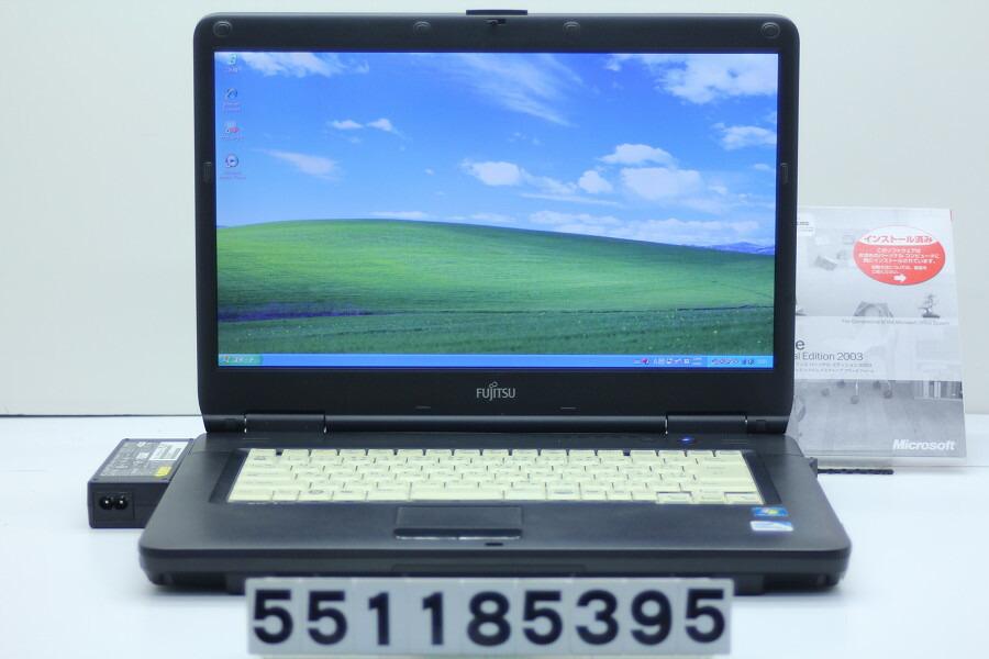 富士通 FMV-A8290 Celeron 900 2.2GHz/2GB/160GB/Multi/15.6W/FWXGA/XP【中古】【20181129】