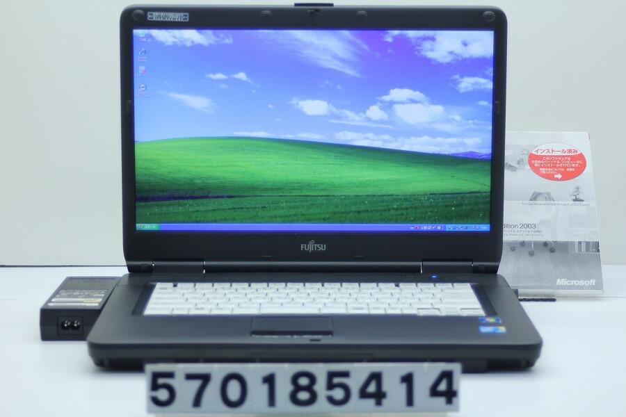 富士通 FMV-A8290 C2D P8700 2.53GHz/2GB/250GB/Multi/15.6W/WXGA++/XP【中古】【20181129】