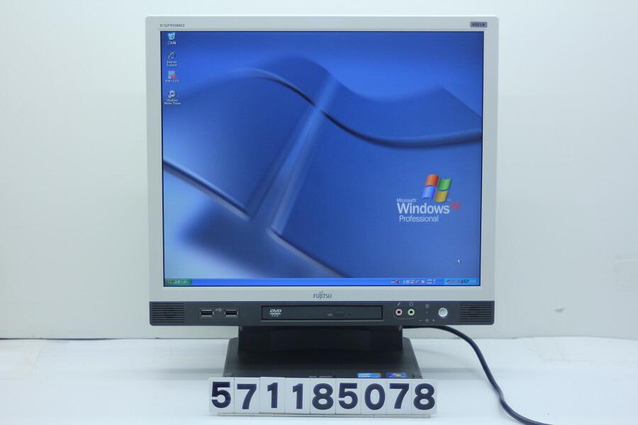 富士通 ESPRIMO K551/B Core i5 M560 2.66GHz/4GB/160GB/DVD/17/SXGA/XP【中古】【20181204】