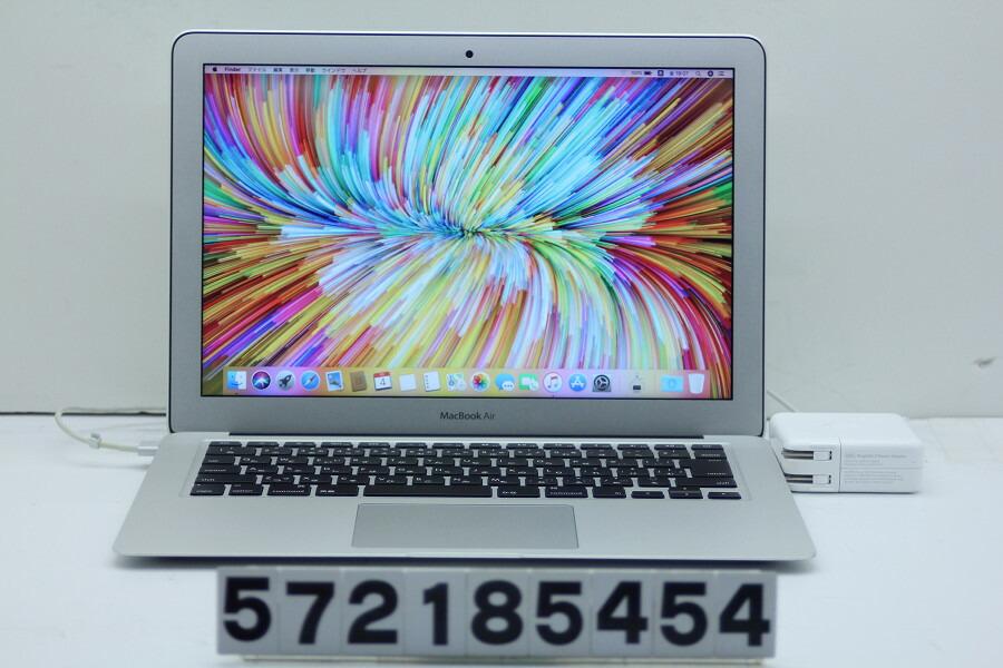 Apple MacBook Air A1466 Early 2014 Core i5 4260U 1.4GHz/4GB/256GB(SSD)【中古】【20190108】