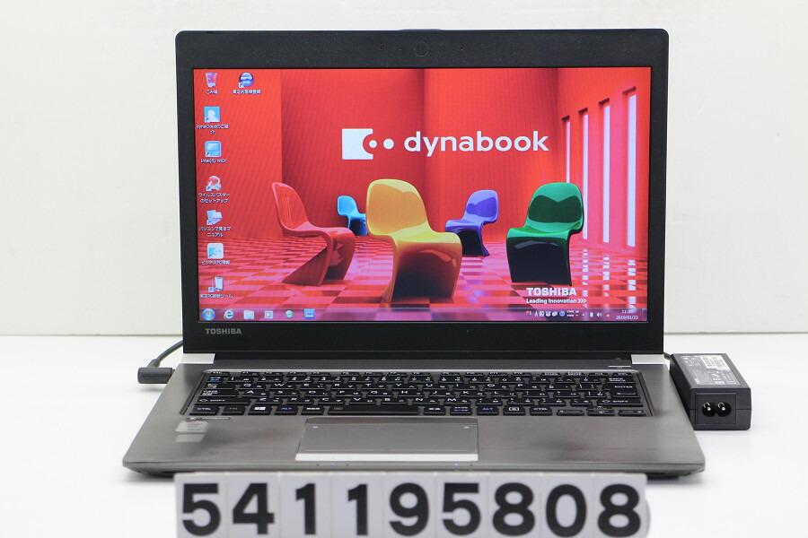 東芝 dynabook R63/P Core i5 5300U 2.3GHz/4GB/128GB(SSD)/13.3W/FWXGA/Win7【中古】【20190124】