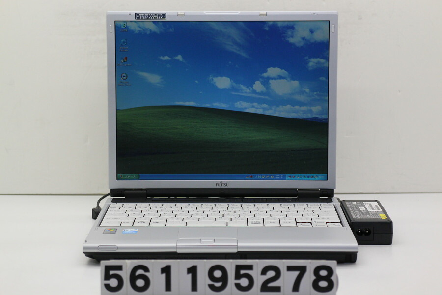 富士通 FMV-S8250 Celeron M 530 1.73GHz/512MB/40GB/CD-ROM/13.3/XGA/XP【中古】【20190130】
