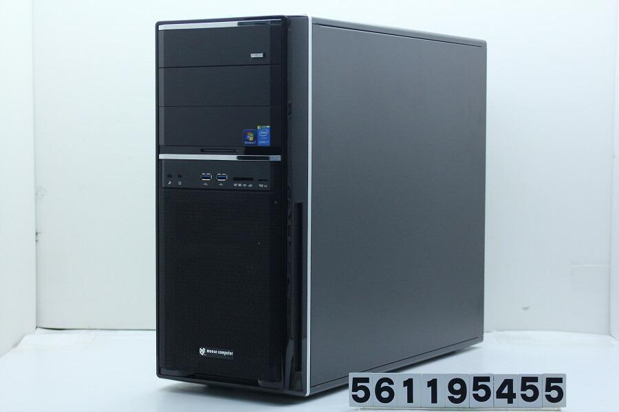 mouse MDV-GX9530X-SH-W7H Core i7 5820K 3.3G/16G/128G(SSD)+3T/Multi/Win7/GTX980【中古】【20190208】