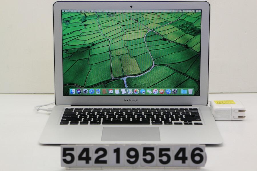 Apple MacBook Air Mid 2013 Core i7 4650U 1.7GHz/8GB/256GB(SSD)/13.3W/WXGA+【中古】【20190215】