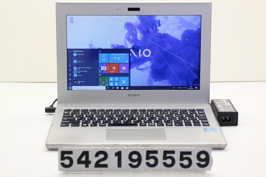 SONY SVT1113AJA Core i5 3317U 1.7GHz/4GB/256GB(SSD)/11.6W/FWXGA/Win10【中古】【20190218】