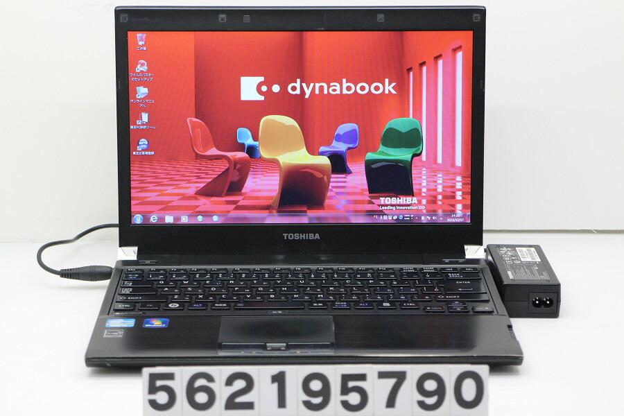 東芝 dynabook R731/B Core i5 2520M 2.5GHz/4GB/250GB/13.3W/FWXGA/Win7【中古】【20190308】
