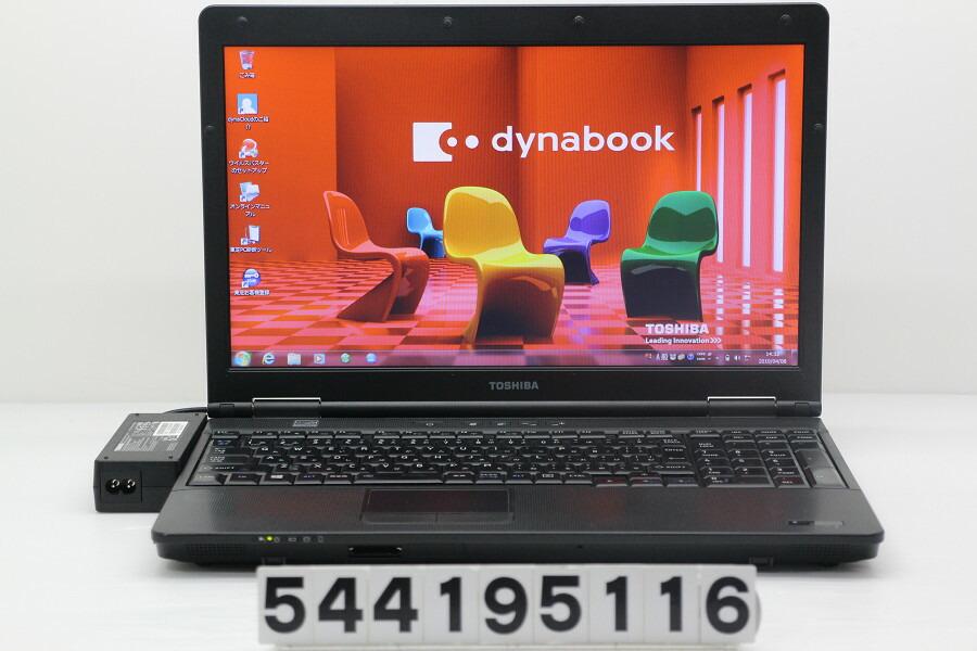 東芝 dynabook B452/G Celeron B830 1.8GHz/4GB/320GB/DVD/15.6W/FWXGA/Win7【中古】【20190409】