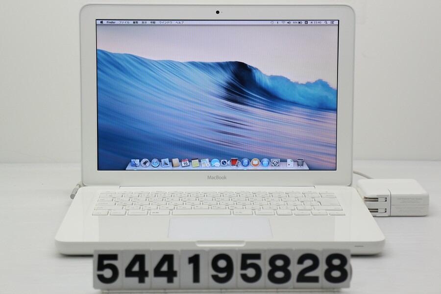 Apple MacBook Mid 2010 MC516J/A C2D P8600 2.4GHz/2GB/250GB/Multi/13.3W/WXGA【中古】【20190417】