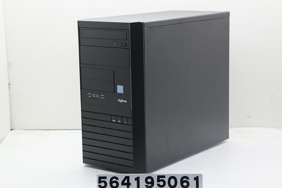 Diginnos Magnate IM Core i5 7400 3GHz/8GB/128GB(SSD)/Multi/Win10/GTX1050Ti【中古】【20190418】