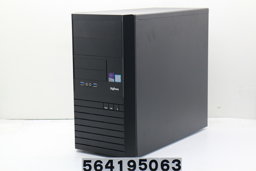 Diginnos Magnate IM Core i5 7400 3GHz/8GB/128GB(SSD)/Win10/GTX1050Ti【中古】【20190418】