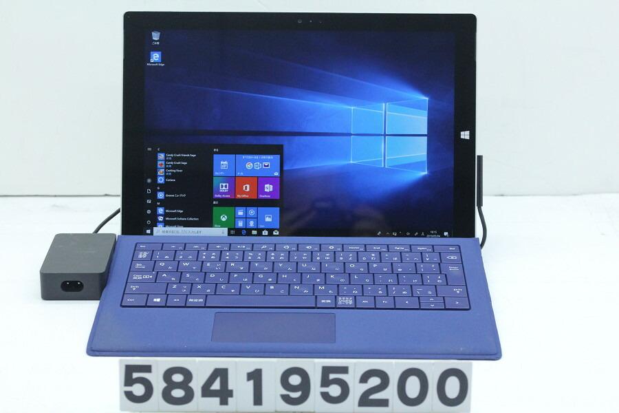 Microsoft Surface Pro 3 256GB Core i5 4300U 1.9GHz/8GB/256GB(SSD)/12W/QHD/Win10【中古】【20190510】