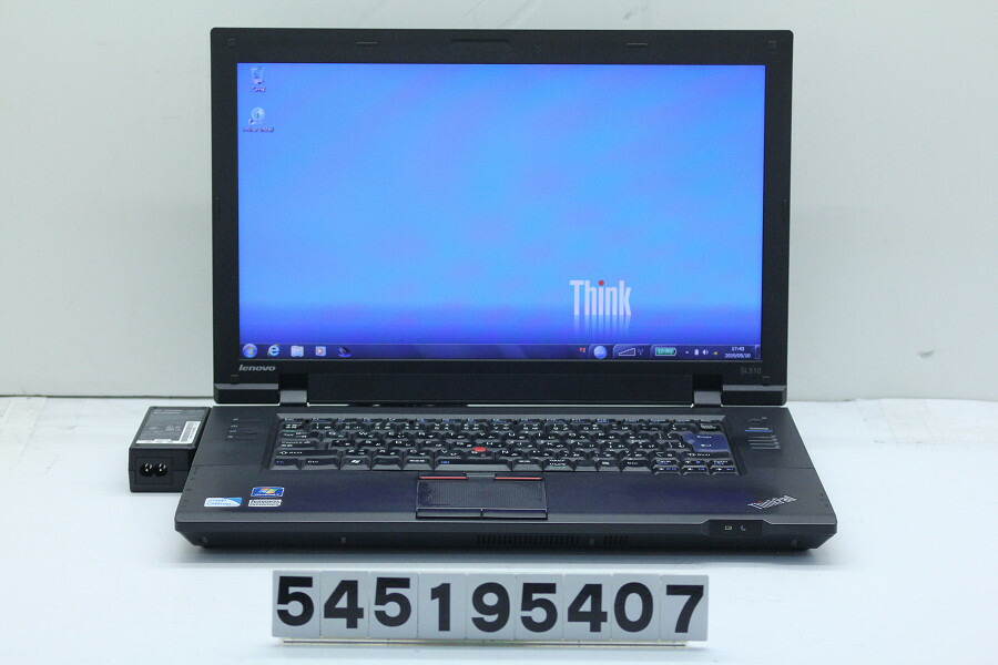 lenovo ThinkPad SL510 Celeron T3500 2.1GHz/4GB/250GB/Multi/15.6W/FWXGA/Win7【中古】【20190514】
