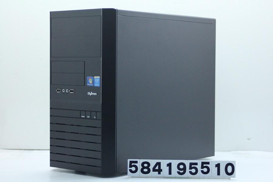 Diginnos Magnate IM Core i5 4590 3.3GHz/4GB/120GB(SSD)/Win10【中古】【20190514】
