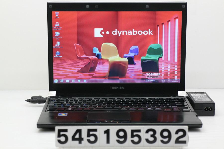 東芝 dynabook RX3 SN266E/3HD Core i5 M560 2.67GHz/4GB/160GB/13.3W/FWXGA/Win7【中古】【20190515】