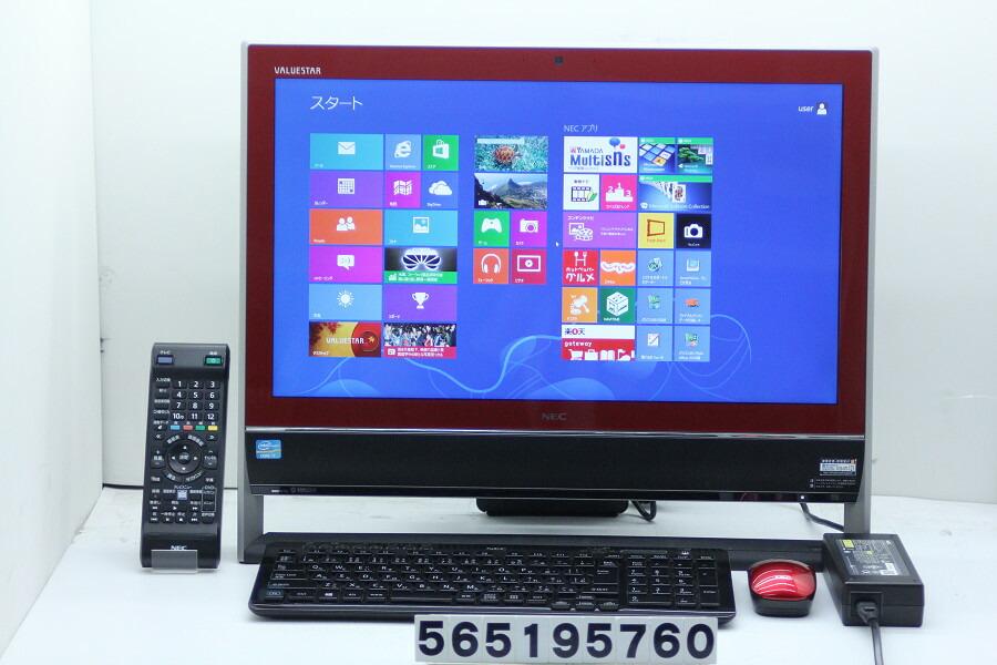 NEC PC-VN770JS1YR Core i7 3630QM 2.4GHz/8GB/3TB/Blu-ray/21.5W/FHD/Win8【中古】【20190524】