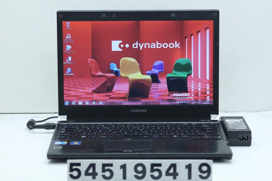 東芝 dynabook RX3 SN266E/3HD Core i5 M560 2.67GHz/4GB/160GB/13.3W/FWXGA/Win7【中古】【20190601】