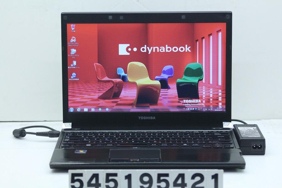 東芝 dynabook RX3 SN266E/3HD Core i5 M560 2.67GHz/4GB/160GB/13.3W/FWXGA/Win7【中古】【20190608】
