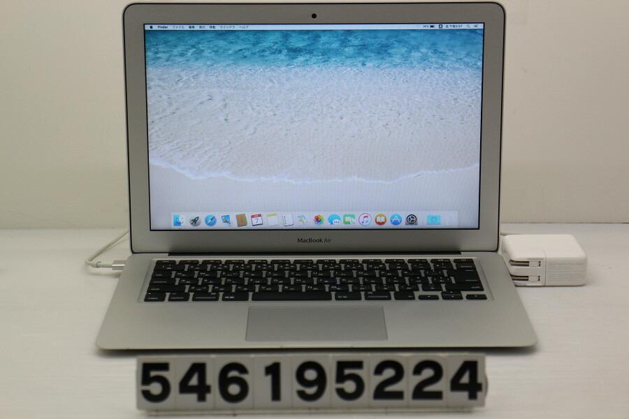 Apple Macbook Air Early 2014 Core i5 4260U 1.4GHz/4GB/256GB(SSD)/13.3W/WXGA+【中古】【20190608】