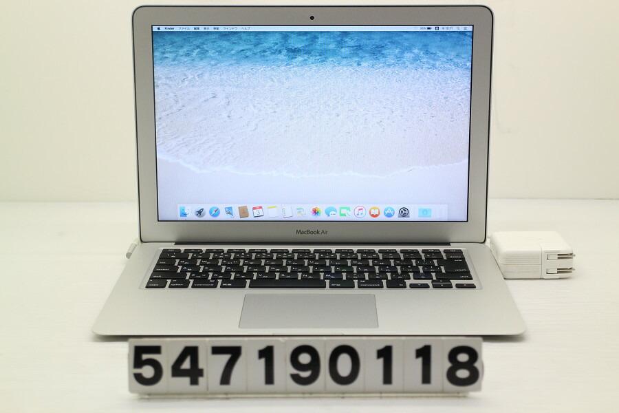 Apple MacBook Air A1369 Mid 2011 MC966J/A Core i5 2557M 1.7GHz/4GB/256GB(SSD)【中古】【20190704】