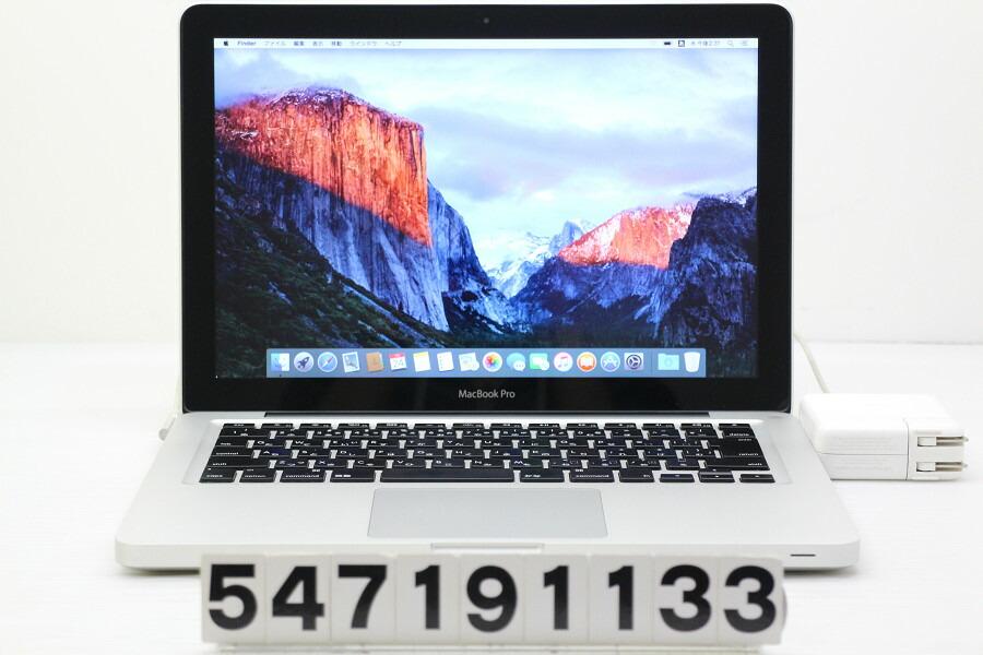 Apple MacBook Pro Mid 2012 Core i7 3520M 2.9GHz/8GB/750GB/Multi/13.3W/WXGA【中古】【20190725】