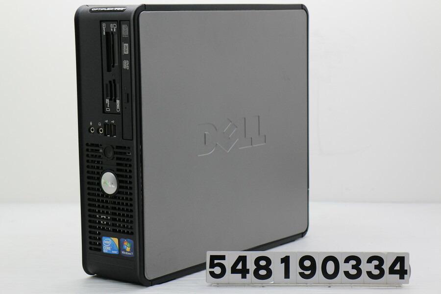 DELL OptiPlex 780 SFF Core2Quad Q8400 2.66GHz/4GB/500GB/Multi/RS232C/XP【中古】【20190813】