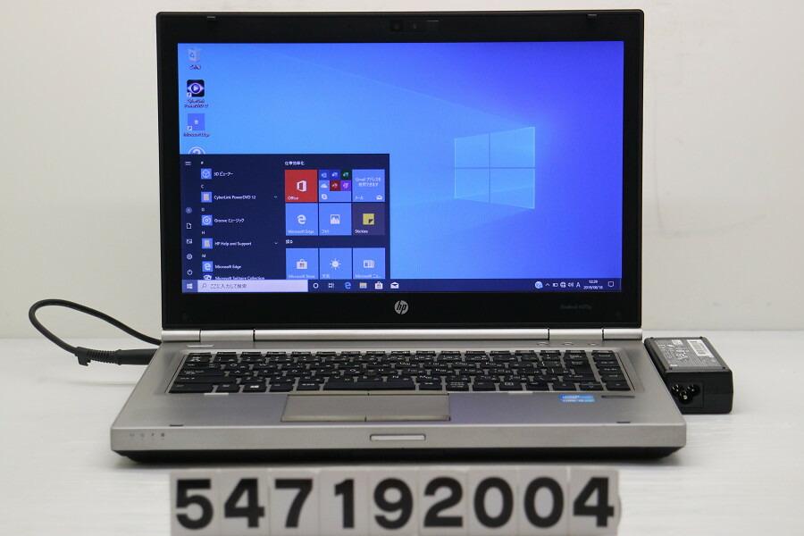 hp EliteBook 8470p Core i5 3320M 2.6GHz/4GB/256GB(SSD)/Multi/14W/FWXGA/Win10【中古】【20190821】