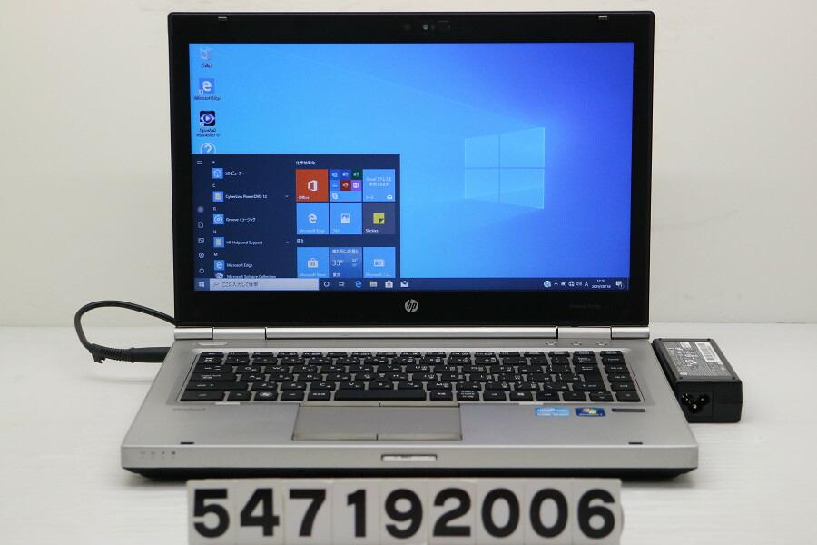 hp EliteBook 8460p Core i5 2520M 2.5GHz/4GB/256GB(SSD)/Multi/14W/FWXGA/Win10【中古】【20190821】