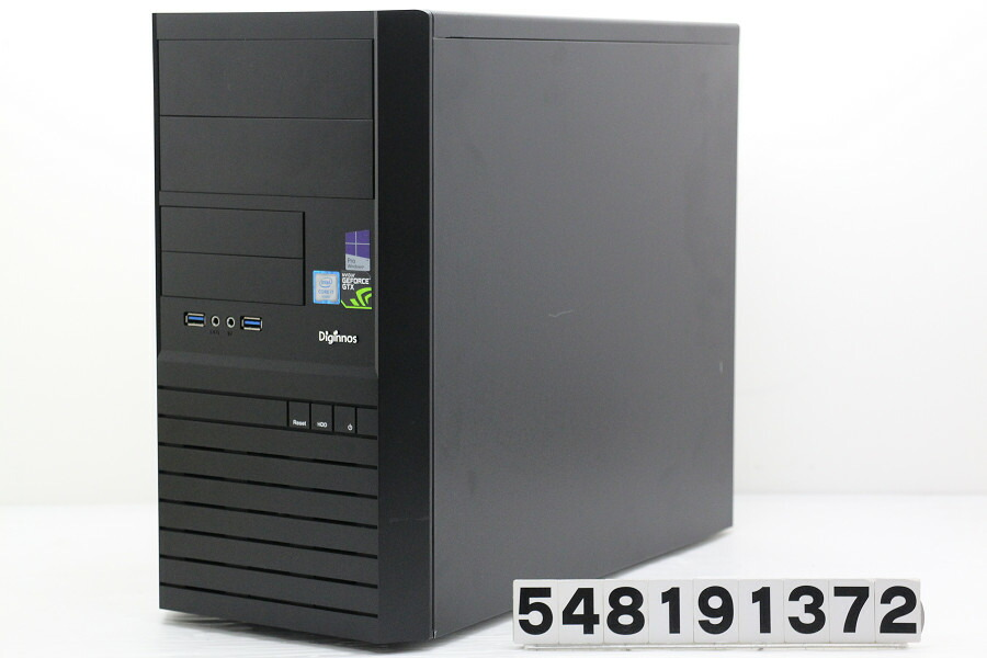 ドスパラ Diginnos Magnate XG Core i7 6700 3.4GHz/16G/256G(SSD)+1T/Win10/GTX980【中古】【20190823】