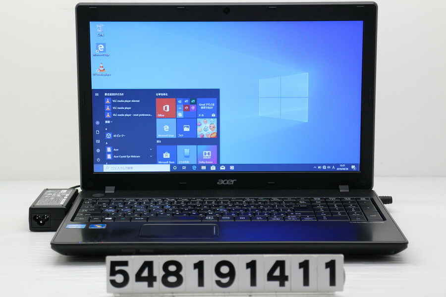 acer TravelMate P453 Core i3 3110M 2.4GHz/4GB/500GB/Multi/15.6W/FWXGA/Win10【中古】【20190830】