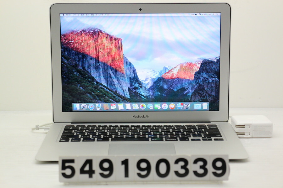Apple MacBook Air Early 2015 Core i5 5250U 1.6GHz/8GB/256GB(SSD)/13.3W/WXGA+【中古】【20190913】