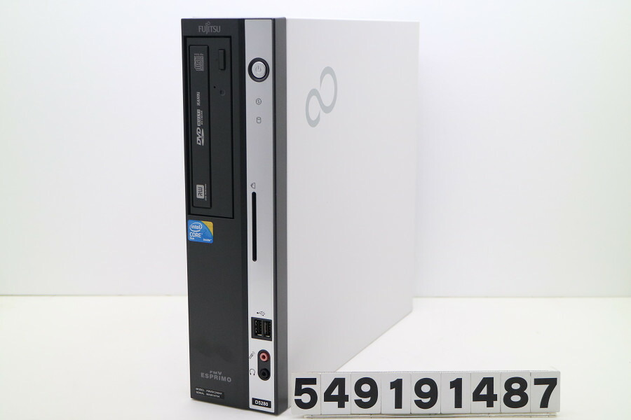 富士通 ESPRIMO D5280 C2D E7400 2.8GHz/2GB/160GB/Multi/RS232C パラレル/XP【中古】【20191002】