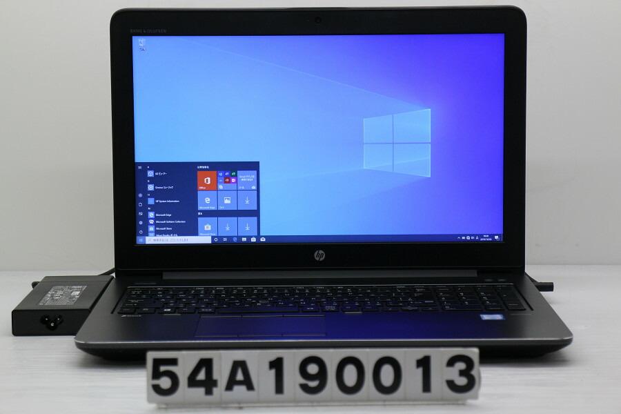 hp ZBook 15 G3 Core i7 6820HQ 2.7GHz/32GB/512GB(SSD)+1TB/Win10/QuadroM2000M【中古】【20191004】